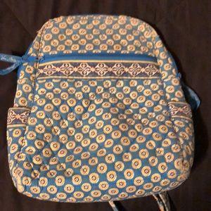 Vera Bradley Riviera Blue Retired Small Backpack